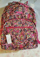 Vera Bradley Lighten up Essential Large Sunburst Floral Backpack