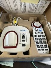 Clarity Xlc3.4 Speaker Phone Cordless Extra Loud Big Button Caller Id White
