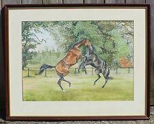 Watercolour Horses Belinda Sillars L'accolade