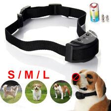Anti Bark No Barking Training Collar Shock Control For Small Medium Large Dog US