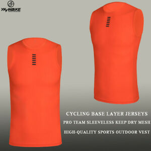 Cycling base layer cycling clothing PRO team sleeveless dry mesh high-quality