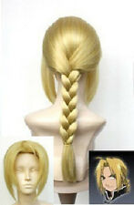 cosplay wigs Fullmetal Alchemist Edward Elric's party wig wigs + Gift