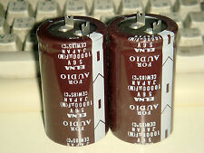 2 X MADE IN JAPAN ELNA FOR AUDIO 10000uF 56V CAPACITOR