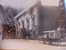 1910 SOKOL HALL Hungarian Yorkville E 71 St NYC New York City Horse-drawn Photo