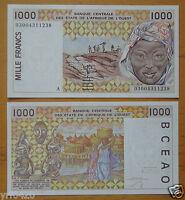 WEST AFRICAN STATES Cote d'ivoire (A) 1000 Francs Uncirculated