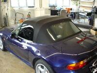 BMW Z3 Cabrio Scheiben Reparatur Set PVC Scheibe Heckscheibe Flüssig PVC