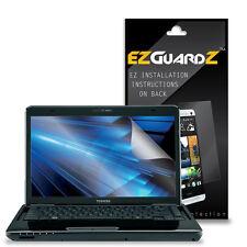 "3X EZguardz LCD Screen Protector Skin HD 3X For Toshiba Satellite 14"" Laptop"