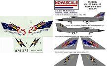 RAAF F-111C&G Tail Art Decals 1&6 Sqn 1/48 Scale N48031