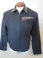 LAST ACTION HERO Arnold Schwarzenegger Black Denim & Lamb Jacket Tony Nowak USA