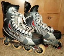 BAUER VAPOR RX:15 INLINE SKATES 7 R / US Shoe Size 8.5 Roller Hockey VGUC