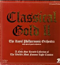 CLASSICAL GOLD II London Philharmonic Orchestra Box Set of 4 LP Records Ronco KA