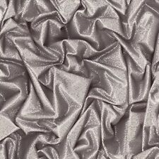 Muriva Crushed Satin Silver Glitter Wallpaper (L14209)