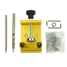 "Pocket Hole Jig Woodworking Kit, 3/8"" step drill, 5"" square drive bit. 12600"