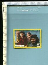 Canned Heat Vintage Early 1970s Dutch Vlinder Matchbook Label; Pop Music Stars