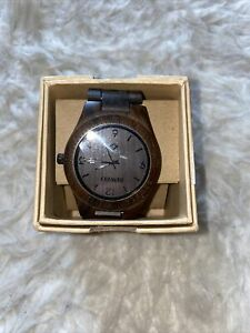 Eco Watch Be Well Wood Watch