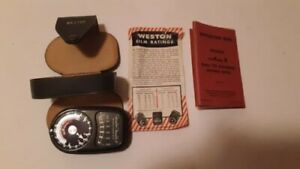 Weston Master II, Model 735, Light Exposure Meter   for Film/Photography, Manual