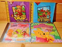 Vintage Kids PC Game Lot Digby The Dog Pocket & Tales Rugrats Pooh Animated
