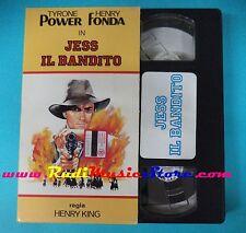VHS film cartonato JESS IL BANDITO Tyrone Power Hery Fonda H 4005 (F91) no dvd