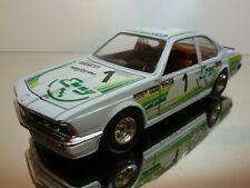 BBURAGO 0173 BMW 635 CSI - BMW ITALIA #1 ENNY - WHITE 1:24 - GOOD CONDITION