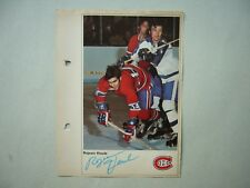 1971/72 TORONTO SUN NHL ACTION HOCKEY PHOTO REJEAN HOULE SHARP!! 71/72 TS