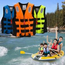 S-XXXL Schwimmweste Erwachsene Kinder Rettungsweste Lifejacket Kajakweste Pfeife