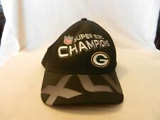 Green Bay Packers Super Bowl XLV Champions Logo Hat Black