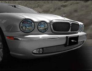 Jaguar XJ8 & XJR Upper Insert and Lower Mesh Grille PKG 2004-2007 models