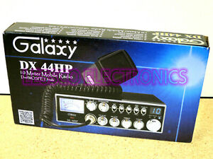 New - Galaxy DX-44HP 10 Meter Amateur Ham Mobile Radio AM FM PA Dual Mosfet