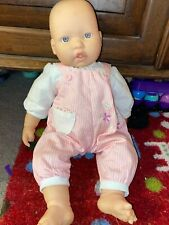 G3 15� Berenguer Laughing Baby Girl Vinyl Doll Blue Eyes Soft Body Orig Outfit