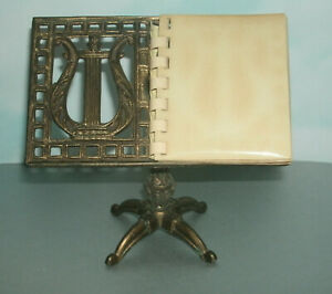 Miniature Brass Photo Album (Music Sheet Stand Style) For 2X3 Mini Print Picture
