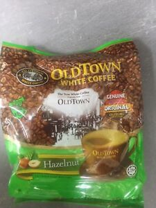 Old Town Instant White Coffee 3 in 1 OldTown hazelnut 38G x 15 Sachets