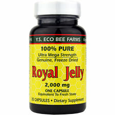 Y.S. Organic Bee Farms Royal Jelly Ultra 2000 mg - 35 Capsules