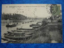 MANTES-LA-JOLIE : Les Bateaux de Promenade chez Osmond.....VO.1921.