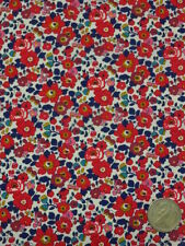 LIBERTY PRINTS  TANA LAWN FABRIC   BETSY ANNE    3.2 METRES L3340