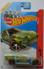 2014 Hot Wheels HW RACING Bullet Proof 171/250 (Clear Yellow Version)