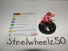 Marvel Heroclix Chaos War Fast Forces Scarlet Witch #006 Wizkids 2012 W/ Card