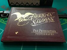 """History Of AMERICAN SALOONS Pictorial Book By Roger E. Kislingbury """"Watch Video"""""""