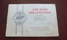 Tobacco trading cards W.D.& H.O.Wills Album of Air Raid Precautions
