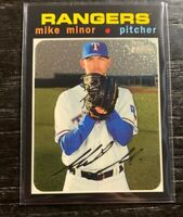 Mike Minor Chrome Refractor 2020 Heritage  722/999 THC-284 Texas Rangers