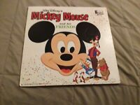 Walt Disney's Mickey Mouse And His Friends, DISNEY, 33 RPM, VINYL, DQ 1321 VG+