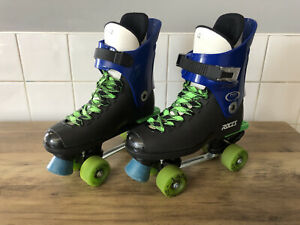 Roces Ventronic Laser Custom 90s Quad Old School Turbo Skates Adults Size 42