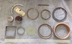 Antique Clock Case Parts, Frames And Misc, Clockmakers Spare Parts