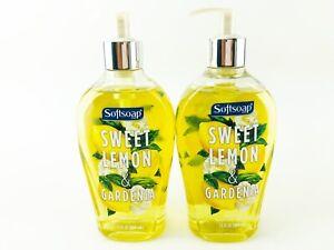 Softsoap Hand Soap Sweet Lemon and Gardenia 13 fl oz Each Lot of 2