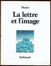 La Lettre et l'image, Figuration dans l'alphabet latin, signes, Queneau, Massin