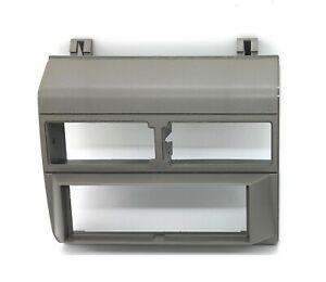 Aftermarket Radio Stereo Dash Install Mounting Trim Bezel Panel Kit Grey Gray