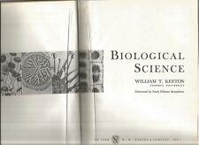 BIOLOGICAL SCIENCE by William T Keeton 1967 Hc Illust by Paula DiSanto Bensadoun