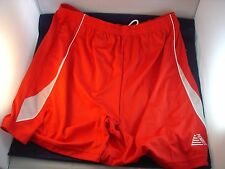 Red Pendle Football shorts size 38/40