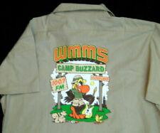 "WMMS RADIO CLEVELAND BUZZARD Vintage 1988 ""Camp Buzzard"" Camp Shirt by D. Helton"