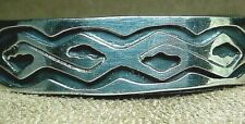 Silver * Abstract Snake Cuff Bracelet Vintage Taxco Mexico Mexican *925 Sterling