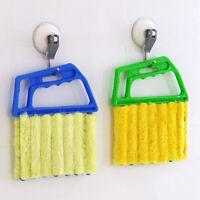 KE_ New Venetian Blind Cleaner Window Conditioner Duster Shutter Clean Brush